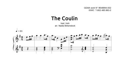 Preview_The Coulin_sheet music_harp