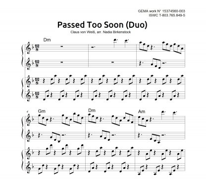 Preview_Passed Too Soon_Duo