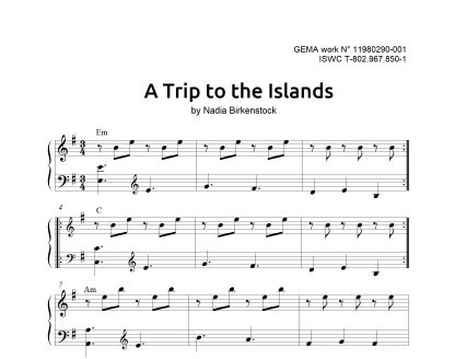 Preview_A Trip to the Islands_sheet music_harp