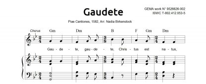 Preview_Gaudete_sheet music_harp