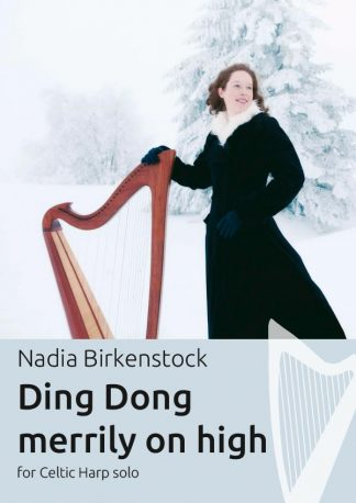 Ding Dong merrily on high_harp_sheet music