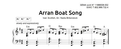 Preview_Arran Boat Song_sheet music_harp
