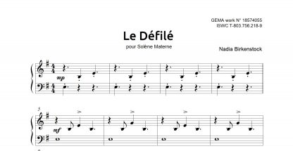 Preview_Le Defile_sheet music_harp