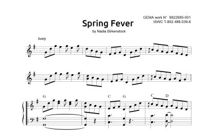 Preview_Spring Fever_sheet music_harp
