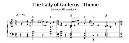 Preview_The Lady of Gollerus_sheet music_harp