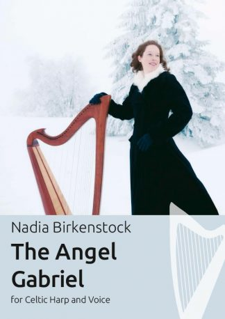 The_Angel_Gabriel_harp_sheet music