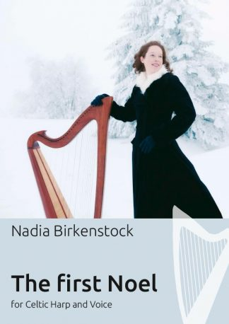 The_first_Noel_harp_sheet music