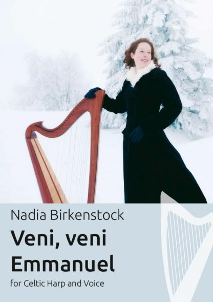 Veni_veni_Emmanuel_harp_sheet music