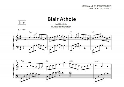 Preview_Blair Athole_sheet music_harp